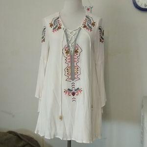 Beautiful Lulu's Boho tunic, sz L